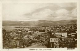 Lebanon, BEIRUT BEYROUTH, General View (1930s) Sarrafian RPPC No. 3 Postcard - Lebanon