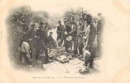 Manoeuvre De L'Est 1901 N° 5 - Distribution Des Vivres - Manoeuvres