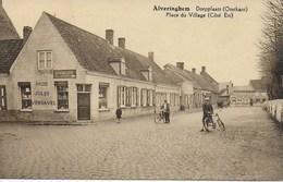 Alveringhem - Alveringem. Dorpplaats Oostkant - Alveringem