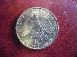 ALLEMAGNE - 10 MARK ARGENT JO D'été à MUNICH 1972 (F) Stuttgart - 20° Jeux Olympiques @ KM 131 - [10] Commémoratives