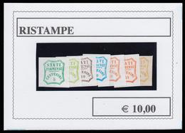 Parma - Governo Provvisorio: STATI PARMENSI (7 Valori) - 1859 - Parma