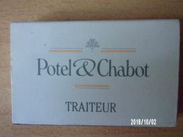 Boite D'allumettes Vide - Potel & Chabot Traiteur - Paris - Boites D'allumettes