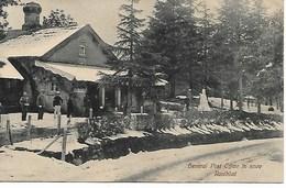 INDE - RANIKHEL - GENERAL POST OFFICE IN SNOW - SOUS LA NEIGE - - B242 - India