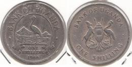 Uganda 1 Shilling 1966 KM#5 - Used - Uganda