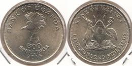 Uganda 500 Shillings 2015 KM#69 - Used - Ouganda