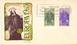 FDC EUROPA  MADRID  COVER 1965   (SET180213) - Europa-CEPT