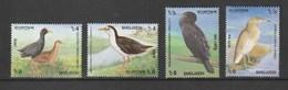 Bangladesh 2000 Scott 617-20 Birds 4v NH - Bangladesh