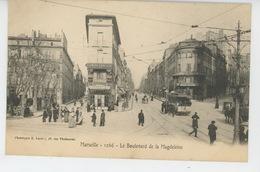 MARSEILLE - Le Boulevard De Magdeleine - Canebière, Centre Ville
