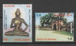 Bangladesh 2000 Scott 624-25 Shrines 2v NH - Bangladesh