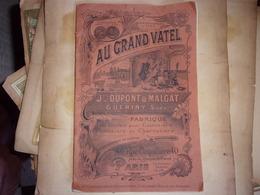 RARE CATALOGUE AU GRAND VATEL CUISINIEr  PATISSIER CHARCUTIER  1929 Outil Vetements Couteaux... - Alimentaire