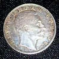 Kingdom Of Serbia, King Petar I ,1915, 1 DINAR,-Silver, UNC KM # 25.1 - Serbie