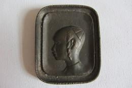 Petite Plaque En Bronze Israël Judaïca - Bronzes