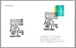 "CERTAMEN INTERNACIONAL DE GUITARRA ""FRANCISCO TARREGA"". Benicasim 1994 - Musik"