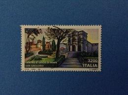 1991 ITALIA FRANCOBOLLO USATO STAMPS USED - ROMA SAN GREGORIO - 6. 1946-.. Repubblica