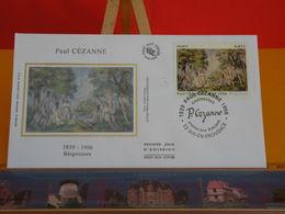Paul Cézanne - Baigneuses - Aix En Provence 13 - 8.4.2006 - FDC 1er Jour Coté 6€ - FDC