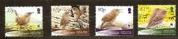 Falkland Islands Micheln° 1078-81  *** MNH Faune Oiseaux Vogels Birds WWF - Passereaux