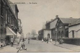 Roeselare. De Statie. (KD Feldpostamt Des XXVI Res. Armée Korps) - Roeselare