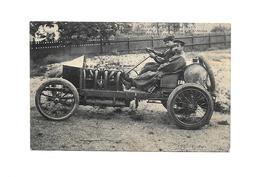 Circuit De La Sarthe 1906- Hémery Vainqueur En 1905 Au Circuit Des Ardennes De La Coupe Vanderbitt, Sur  Voiture Darrack - Rally Racing