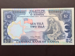 SAMOA P25 2 TALA 1985 UNC - Samoa
