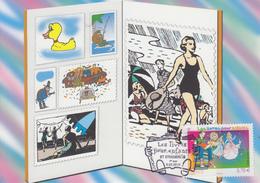 Carte Maximum  1er  Jour   FRANCE    Les  Livres  Pour  Enfants     EUROPA   STRASBOURG   2010 - Europa-CEPT