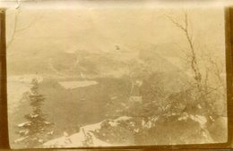 Guerre 1914 Alsace PHoto Prise à Ranspach Avec Vue Du Gustiberg En 1915 - Guerre, Militaire