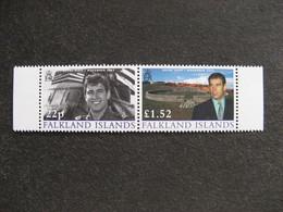 FALKLAND: TB Paire N° 839 Et N° 840, Neufs XX. - Falkland Islands