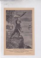 TENIENTE CORONEL GASPAR CAMPOS. ARGENTINE PATRIOTIQUES LAMINA SHEET PLANCHE CIRCA 1890s RARES SIZE 14x21 Cm - BLEUP - Affiches