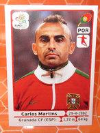 EURO2012 PANINI N. 268 MARTINS  STICKER NEW CON VELINA - Edizione Italiana