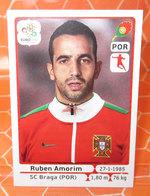 EURO2012 PANINI N. 266 AMORIM  STICKER NEW CON VELINA - Panini