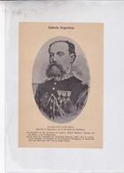 CORONEL DON JUAN  SOLA. ARGENTINE PATRIOTIQUES LAMINA SHEET PLANCHE CIRCA 1890s RARES SIZE 13x19 Cm - BLEUP - Afiches