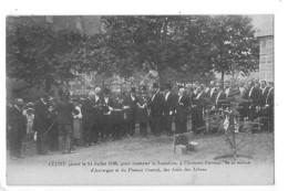 CLERMONT-FERRAND (cpa 63) Cèdre Planté Le 14 Juillet 1906 Pour Constater La Fondation Des Amis Des Arbres - L 1 - Clermont Ferrand