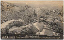VIEIL-ARMAND - Vue Prise De L'abri - Poste Observatoire Au Sommet - - Guerre 1914-18