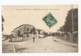 52 Dommartin Le Saint Père, Rue De Courcelles (A5p74) - France