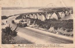Rare Cpa Plougastel-Daoulas Le Pont à Péage - Plougastel-Daoulas