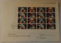 """2364/7 """"Zirkus"""", 1978, Kplt. Bogen Auf """"Jumbo""""-FDC Mit ESst. - FDC: Briefe"""