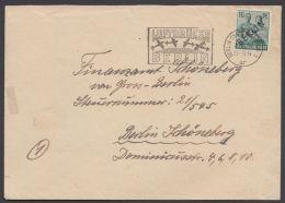 7, EF Auf Bedarfsbrief Mit Luftbrückenstempel - Berlin (West)