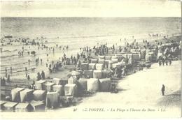CPA DE LE PORTEL  (PAS-DE-CALAIS)  LA PLAGE A L'HEURE DU BAIN - France