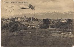 Aviation - Départ D'un Avion De Collex-Bossy - Genève - 1912 - ....-1914: Précurseurs