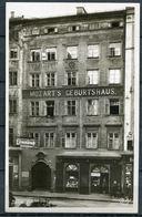 """CPSM S/w Photo AK Österreich Salzburg""""Mozart's Erste Wirkungsstätte,belebt  """" 1 AK Blanco - Ansichtskarten"""