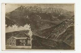 Y 88) MOENA  RIFUGIO LUSIA -1925 - Trento