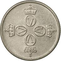 Monnaie, Norvège, Olav V, 25 Öre, 1976, TTB, Copper-nickel, KM:417 - Norvège