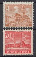"""112/3 """"Berliner Bauten"""", 1953, Komplett, ** - Berlin (West)"""