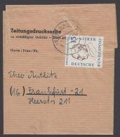 166, Seltene EF Auf Zeitungsdrucksache - Berlin (West)