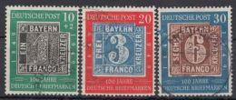 """113/5 """"100 Jahre Briefmarken"""", Sauber Gest. Bedarfssatz - BRD"""