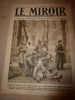 1919 LE MIROIR:Révolution à Berlin Et Au Portugal;Navire HERKULES;Peaux-rouges à Oklaoma;Navire Anglais Cochrane;etc - Français