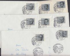 431/8, Marken Aus Widerstandsblock, Je Als EF Auf Ortsbrief - Briefe U. Dokumente