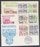 MHBl. 26, 27, 29, 3 Heftchenblätter Je Pass. Brief Mit ESst. - BRD