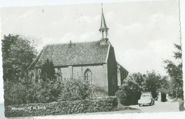 Horssen 1965; N.H. Kerk (met VW Kever) - Gelopen. (E. Donkers - Horssen) - Pays-Bas