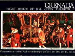 72287) GRENADA-QEII, 1977 Coronation Silver Jubilee MNH Booklet -  MNH** - Grenada (1974-...)