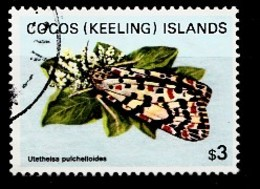 COCOS-ISLANDS 1982 Mi.nr.103 Schmetterlinge  OBLITÉRÉS / USED / GESTEMPELD - Cocos (Keeling) Islands